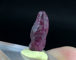 Wow Very Beautiful Terminated Red Ruby Crystal From Afghanistan