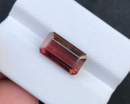 ~NR~5.5(ct)Deep Pink Color Nigerian Tourmaline Faceted Gemstone