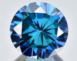 Azotic Topaz 4.22 Cts  Millennium Cut Blue Color Natural Gemstone