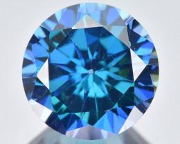 Azotic Topaz 3.58 Cts  Millennium Cut Blue Color Natural Gemstone
