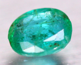 1.85ct Natural Zambia Green Emerald Oval Cut Lot P494