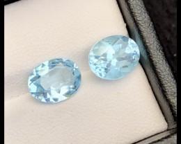 6.35 Ct Natural Blue Color Topaz Q.T
