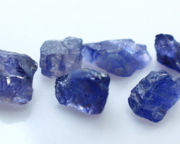 34.80 CTs Natural & Unheated~Blue Iolite Rough Lot