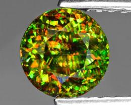 1.17 Ct Chrome Sphene Exceptional Color Pakistan Sp18
