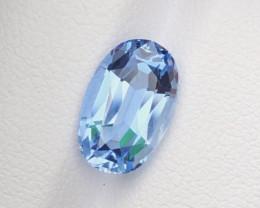 3.00Ct Santa Maria Color Custom Cut Natural Aquamarine