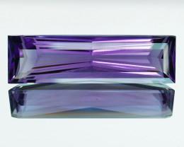 9.66 Cts Genuine 100% Natural Amethyst Octagon Shape Custom Cut REF VIDEO