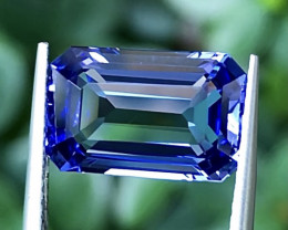 5.32ct Blue Tanzanite With Excellent Luster And Fine Cutting  Gemstone