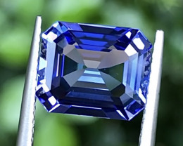 3.39ct Blue Tanzanite With Excellent Luster And Fine Cutting Gemstone