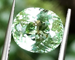 4.30ct Copper Bearing  Tourmaline With Excellent Luster And Fine Cu