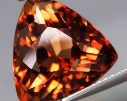 11.88 ct. Top Quality Natural Earth Mined Topaz Orangey Brown Brazil
