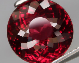 4.41 Ct. 100% Natural Earth Mined Cherry Red Rhodolite Garnet Africa