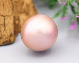 11.72Ct Exceptional Metallic Lavender Rainbow Color Edison Pearl SF543