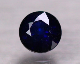 0.98ct Natural Ceylon Blue Sapphire Round Cut Lot P472