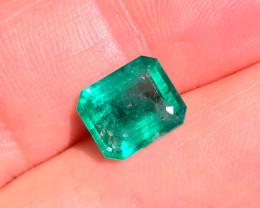 Natural Brazilian emerald – 3.15 ct ( Emerald Cut)