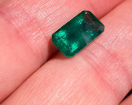 Natural Brazilian emerald – 4.20 ct ( Emerald Cut)