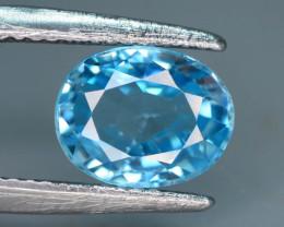 AAA Brilliance 3.10 ct Blue Zircon Cambodia ~M