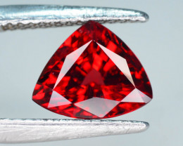 High Clean 2.60 ct Attractive Piece Red Garnet Ring size~M