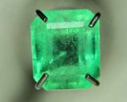 1.00ct Colombian Emerald