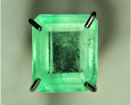 0.87ct Colombian Emerald