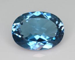 Open Color Big Size 10.55 ct London Blue Topaz