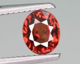 AAA Brilliance 1.45 ct Red Zircon Ring