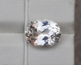 HGTL Certified 7.35 Carats Natural Spodumene  Nice Cut Gemstone From Afghan