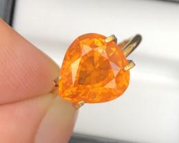 Fabulous Quality 5.00 Ct Fanta Orange Color Spessartite Garnet