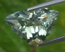 6.00Cts Wow Amazing Natural Green Amethyst (prasiolite) Butterfly Cut