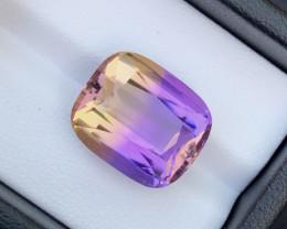 14.10Ct Natural Bi-Color Bolivian Ametrine