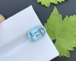 AAA Grade 2.45  ct Santa Maria Color Aquamarine~K
