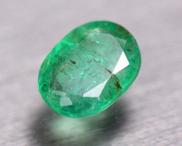 1.91Ct Natural Zambia Green Emerald Oval Cut Lot Z137