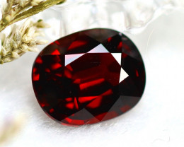 Almandine 3.53Ct Natural Vivid Blood Red Almandine Garnet  D0601/B26