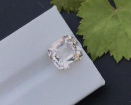 Peach Orange Color 4.95 ct Natural Morganite Ring size~RS