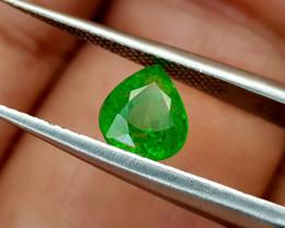 1.35Crt Rarest Tsavorite Garnet Natural Gemstones JI74