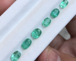 ~NO RESERVE~3.40 Carats Natural Emerald Gemstone From Panjsher Afghanistan