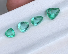 ~NO RESERVE~2.30 Carats Natural Emerald Gemstone From Panjsher Afghanistan