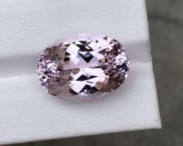 ~NR~Certified 15.56 Carats Natural Kunzite Nice Cut Gemstone@Afghanistan