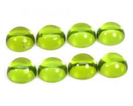 Peridot 5.37 Cts 8Pcs Green Color Natural Gemstone - Parcel