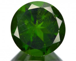 Chrome Diopside  2.12 Cts Vivid Green Color Loose Gemstone