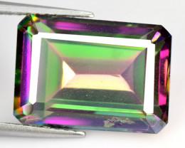 Mystic Quartz 7.76 CTS Natural Fancy Aurora Borealis Gemstone