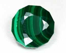 Malachite 4.83Ct Round Cut Natural Green Color Malachite SA129