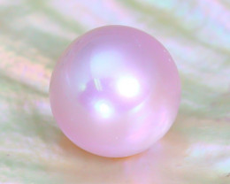 Akoya Pink Pearl 3.26Ct 7.7mm Natural Akoya Sakura Pink Pearl C0919