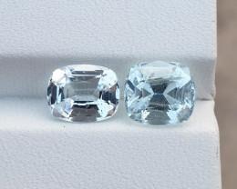 4.35 ct Natural Aquamarine gemstones