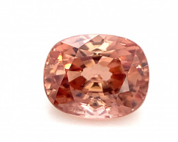 Padparadscha color 2.15 Cts Natural Zircon Top Quality from Cambodia
