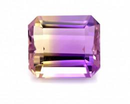 ( NR )7.75 Cts  FALWLESS BOLIVIAN  AMETRINE Fancy cut   Gemstone