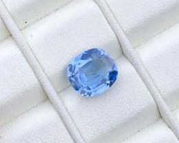 No Reserve ~ 2.70 carats deep blue aquamarine gemstone