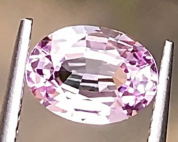 1.39ct  Pink Sapphire With Excellent Luster and Fine Cutting Gemston