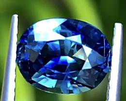 2.12ct Bicolor Sapphire With Excellent Luster And Fine Cutting Gemstone