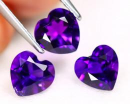Amethyst 2.17Ct VS Fancy Cut Natural Uruguay Violet Amethyst SC586