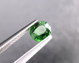 0.78cts Natural  Green Tsavorite Garnet Gemstone   SKU : 234